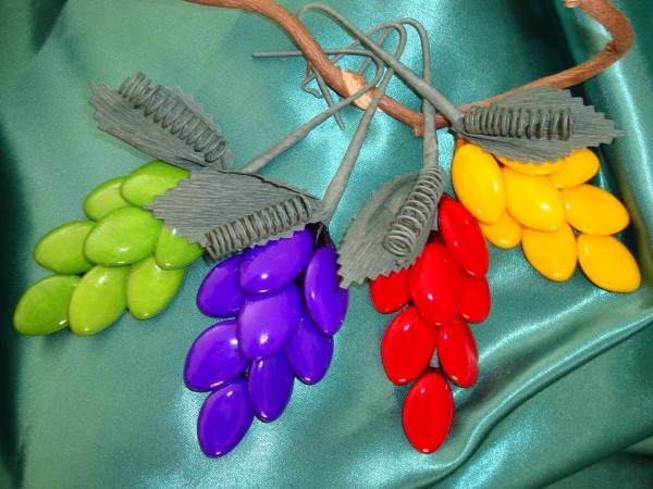 Confetti Sulmona in Fiera - Grappolo d'uva forma confetto